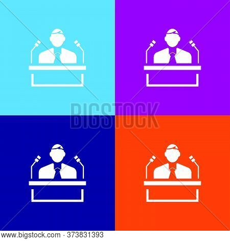 Voter Icon. Election Element Icon. Premium Quality Graphic Design. Signs, Outline Symbols Collection