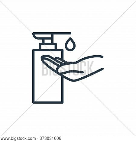soap icon isolated on white background from stop virus collection. soap icon trendy and modern soap
