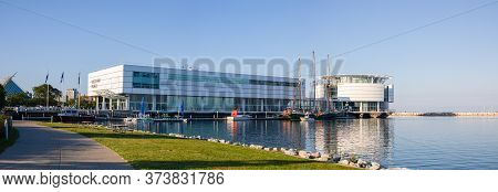 Milwaukee, Wisconsin, United States Of American - September 1, 2019: The Discovery World Building As