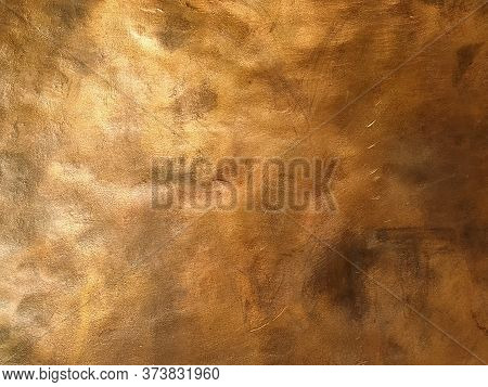 Copper Texture Background. Bronze Texture And Color.