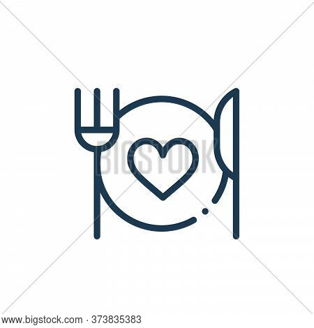 food icon isolated on white background from world love collection. food icon trendy and modern food
