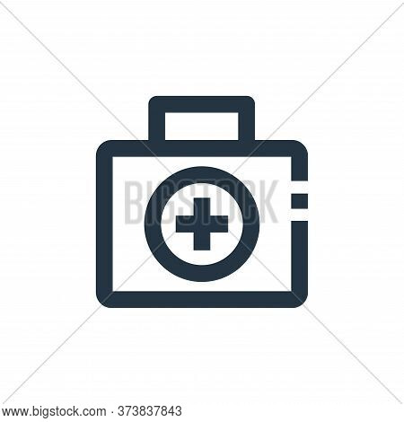 first aid kit icon isolated on white background from medical collection. first aid kit icon trendy a