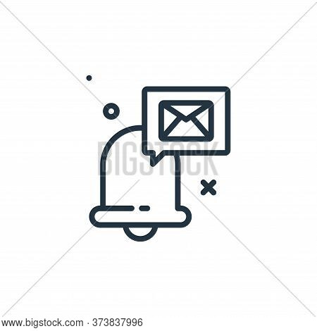 email icon isolated on white background from work from home collection. email icon trendy and modern