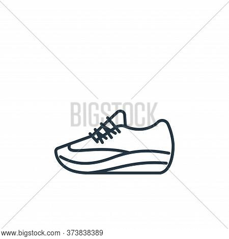 sport shoe icon isolated on white background from clothes and outfit collection. sport shoe icon tre