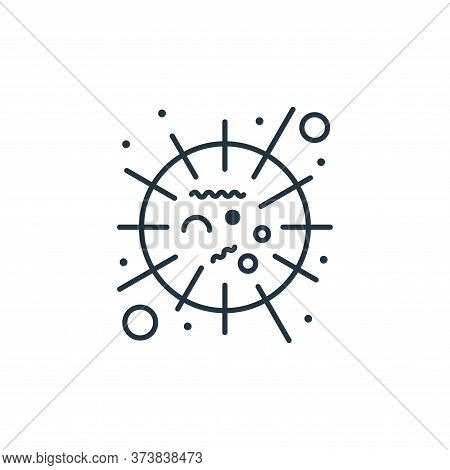 sars icon isolated on white background from coronavirus collection. sars icon trendy and modern sars