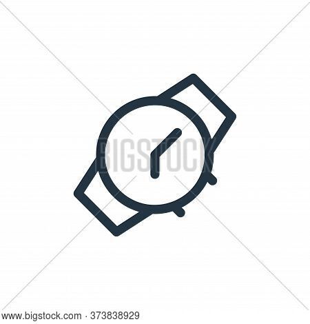 watch icon isolated on white background from electronics collection. watch icon trendy and modern wa