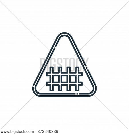 fence icon isolated on white background from signaling collection. fence icon trendy and modern fenc