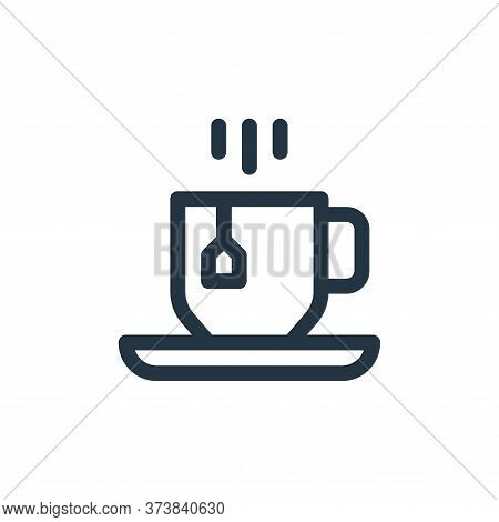 tea cup icon isolated on white background from england collection. tea cup icon trendy and modern te