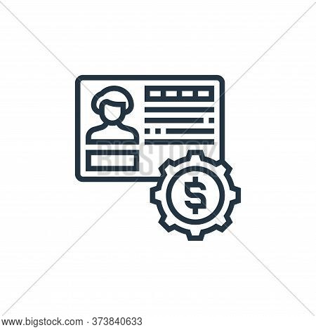 bank account icon isolated on white background from payment element collection. bank account icon tr