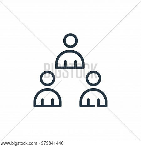 avoid crowds icon isolated on white background from symptoms virus collection. avoid crowds icon tre
