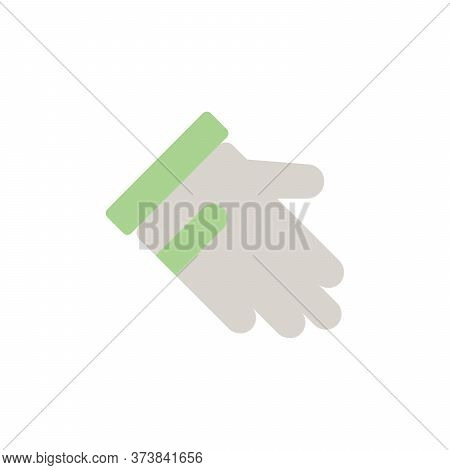 Golf Glove Colored Icon. Simple Colored Element Illustration. Golf Glove Concept Symbol Design From