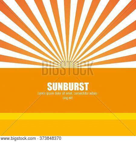 Sunburst Pattern Design, Vector Illustration Eps10 Graphic