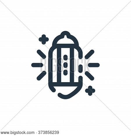 light icon isolated on white background from ramadan kareem collection. light icon trendy and modern