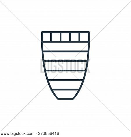 vase icon isolated on white background from interiors collection. vase icon trendy and modern vase s