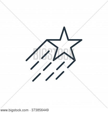 star icon isolated on white background from space collection. star icon trendy and modern star symbo