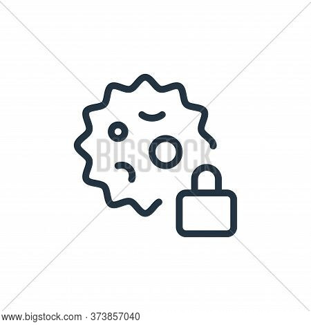 clock icon isolated on white background from coronavirus collection. clock icon trendy and modern cl