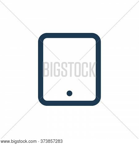 tablet icon isolated on white background from electronic and device collection. tablet icon trendy a