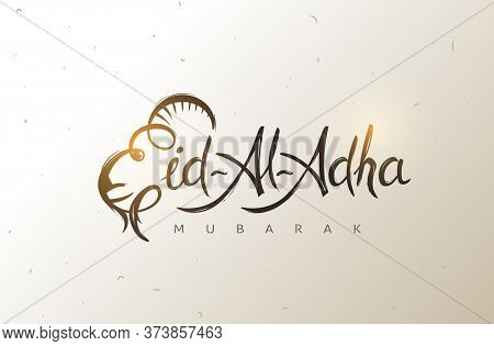 Eid Al Adha Mubarak The Celebration Of Muslim Community Festival Background.