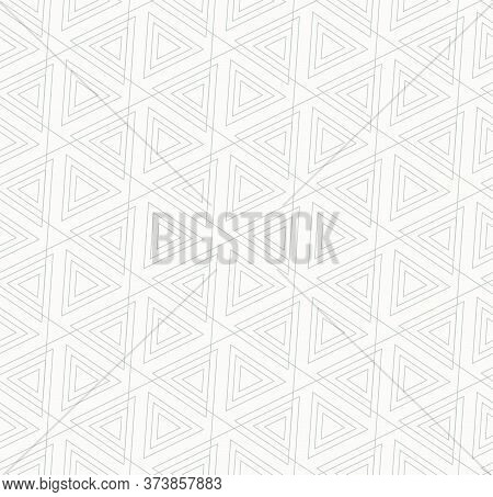 Repeat East Vector Web, Background Texture. Repetitive Classic Graphic Triangle Repeat Pattern. Cont