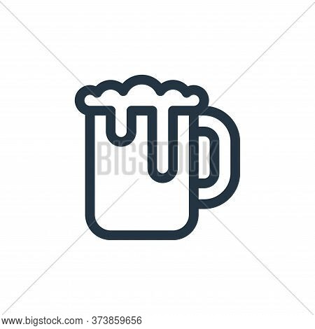 beer mug icon isolated on white background from europe collection. beer mug icon trendy and modern b