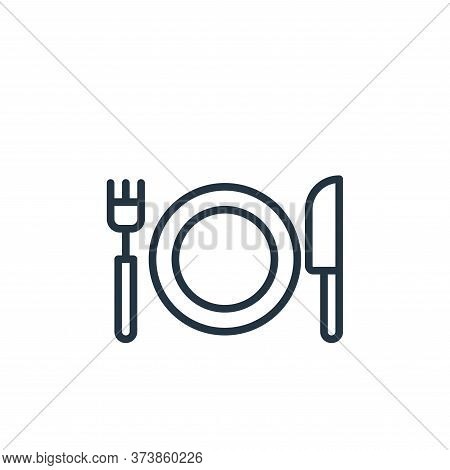 eating icon isolated on white background from stay at home collection. eating icon trendy and modern