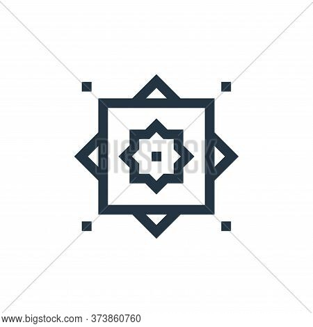 rub el hizb icon isolated on white background from ramadan collection. rub el hizb icon trendy and m