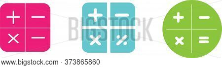 Calculator Icon Isolated On Background  Numeracy, Numeric, Object, Office