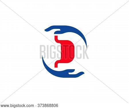 Stomach Care Logo Vector Template, Creative Stomach Logo Design Concepts