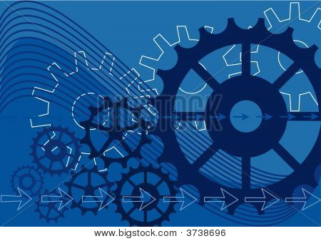 Mechanical Vector Background