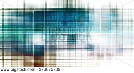 Advanced Technology With Futuristic Abstract Background Art