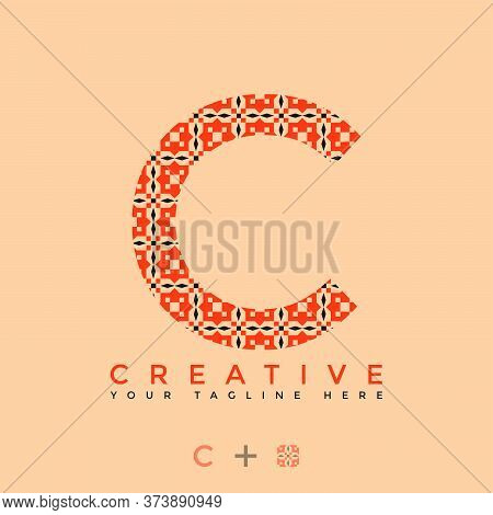 This Is The Design Of The Letter C Logo With The Initial Logo Style. This Logo Is Suitable For Compa