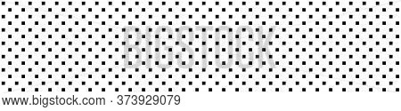 Square Background. Square Pattern In Panorama View. Square Abstract Pattern Background. Vector Illus