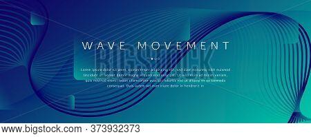 Dark Dynamic Wave. Flow 3d Elements. Curve Gradient Shapes. Dynamic Wave. Memphis Brochure. Fluid St