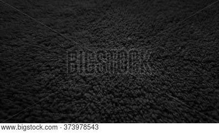The Texture Of Gray Carpet Pattern Background.