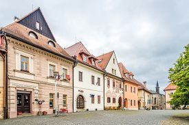 Bardejov,slovakia - June 9,2020 - In The Streets Of Bardejov Town. Bardejov Is A Town In North-easte