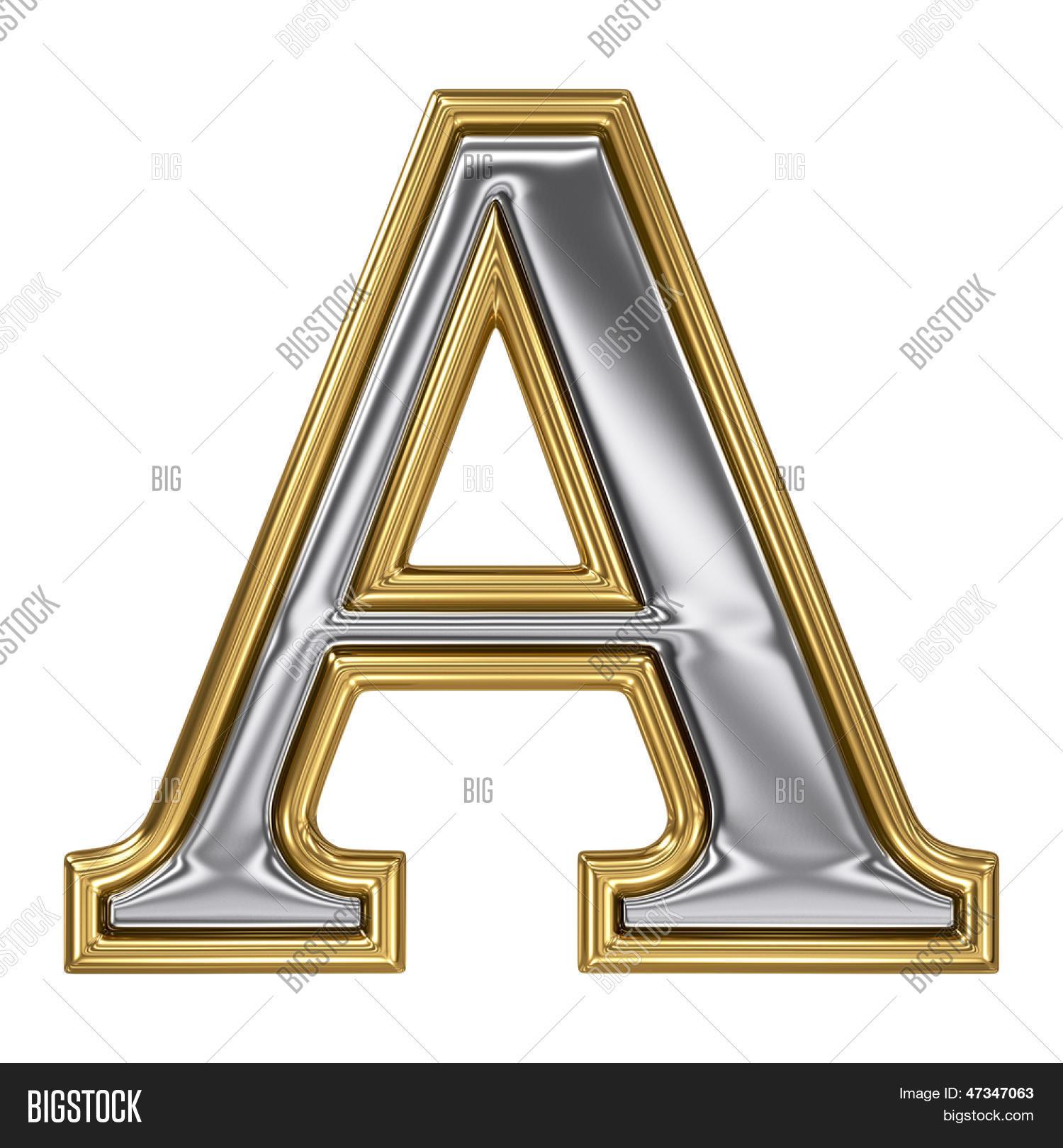 Metal Silver Gold Image Photo Free Trial Bigstock