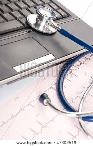 Doctor Workplace - Medical Concept