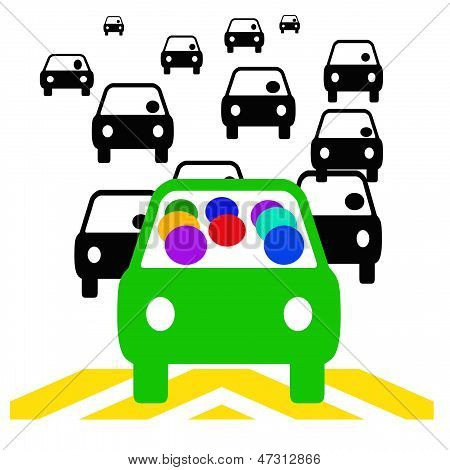 carpool commute