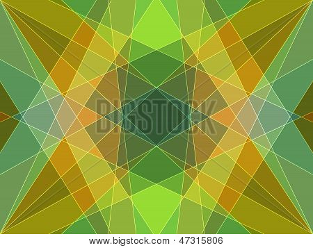 Abstract Colored Mosaic