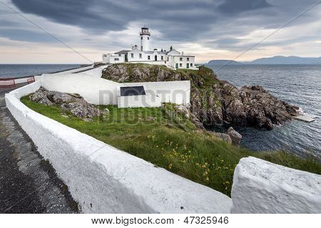 Lighthouse At Fanad Head, Ireland