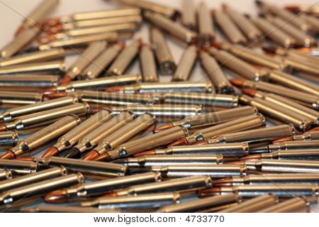 .223 Bullet Collage