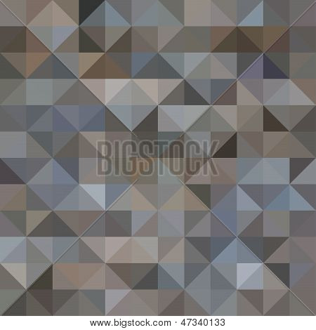 Abstract Seamless Triangle Pattern, Geometrical Background, Vector Illustration poster