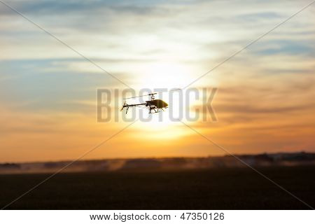 Photo Of An Rc Copter