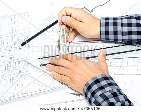 Architect Drawing