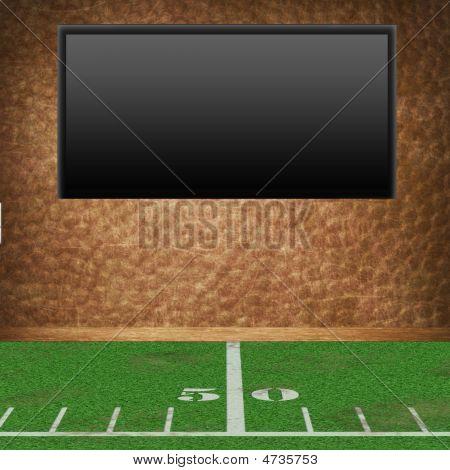 Empty Football Room