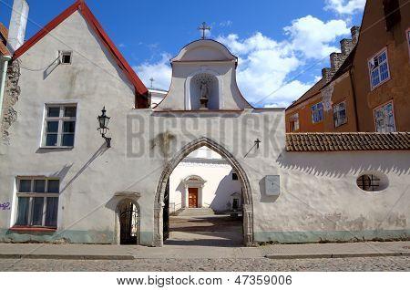 St. Peter and St. Paul's (Peeter-Pauli Katedraal) Cathedral. Tallinn, Estonia poster