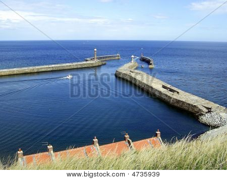 Whitby Harbour ,north Yorkshire