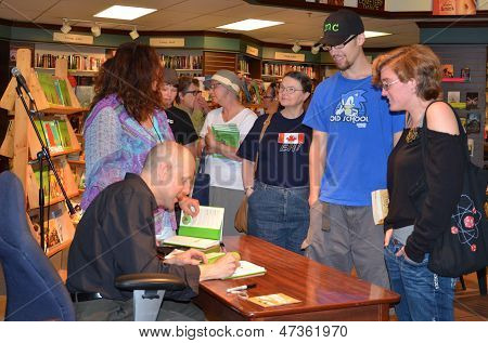 Jim Ottaviani At Nicola's Books June 2013