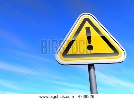 exclamation point sign