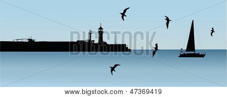 landscape lighthouse